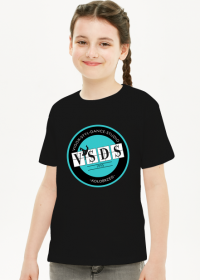 VSDS CUKSY koszulka treningowa turkusowe logo