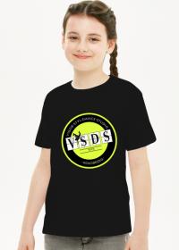 VSDS dziecięca koszulka treningowa żółte logo