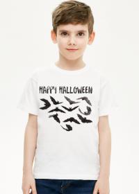 Happy Halloween - koszulka dla chłopczyka z nadrukiem na Halloween