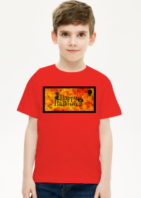Happy Halloween - koszulka dla chłopca