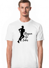 Biegam bo lubię - męska koszulka dla biegacza