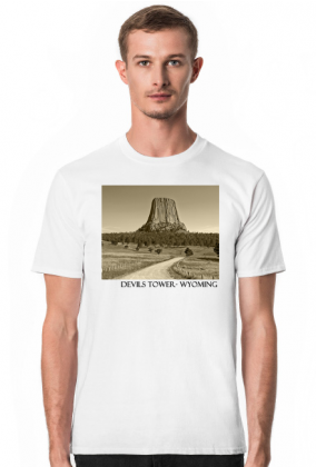 Koszulka Devils Tower - Wyoming.