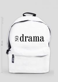No Drama - mały plecak z nadrukiem