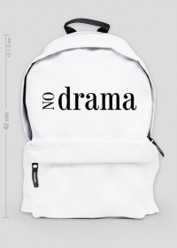 No Drama - duży plecak z nadrukiem