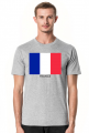 Koszulka z flagą Francji.