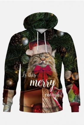 Bluza święta, kot, grumpy cat, merry