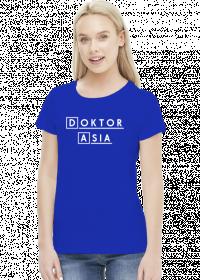 Koszulka Doktor z imieniem Asia