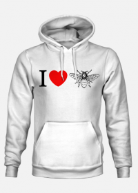 Bluza z Kapturem I Love