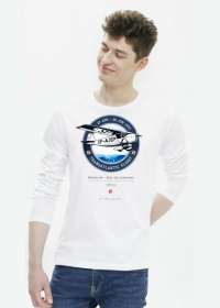 AeroStyle - longsleeve biały RWD