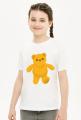Koszulka dziecięca miś, przód i tył
