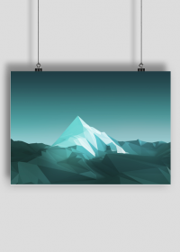 Plakat A1 Góry poly