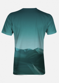 Koszulka męska Góry poly