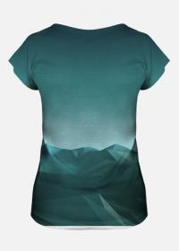 Koszulka damska Góry poly