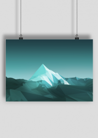 Plakat A2 Góry poly