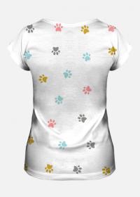 Koszulka damska Kocie łapki