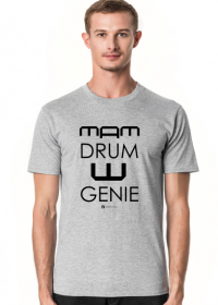 Mam Drum W Genie_czarna grafika