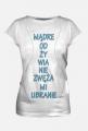 mądre odżwyianie koszulka damska 2