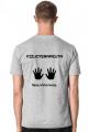 Koszulka męska - Fizjoterapeuta - ręce, które leczą / fizjoterapia