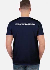 Koszulka męska dla fizjoterapeuty - Fizjoterapeuta / fizjoterapia /