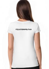 Koszulka damska - Fizjoterapeutka / fizjoterapia /