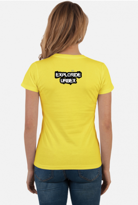 EXPLORIDE CLASSIC damska, logo przód i tył, wiele kolorów