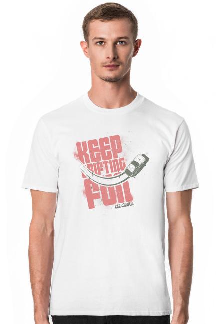 Koszulka męska - KDF - Keep Drifting Fun - CarCorner