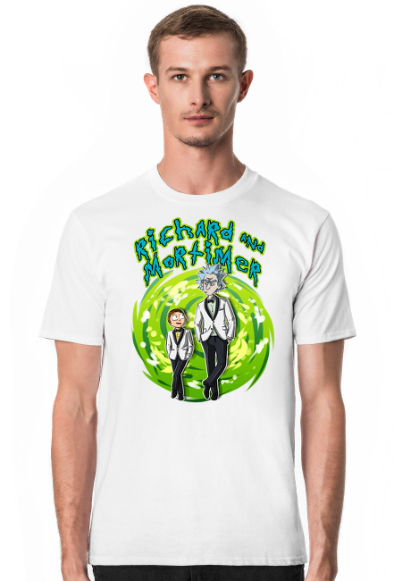 Rick and Morty koszulka