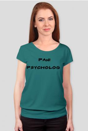 Koszulka Pani Psycholog - turkusowa