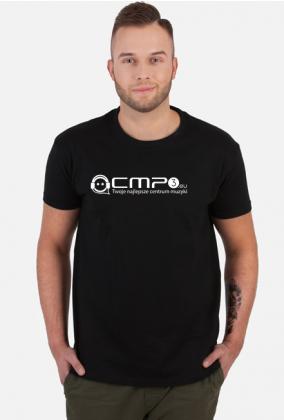 Koszulka z logo Cmp3.eu Białe