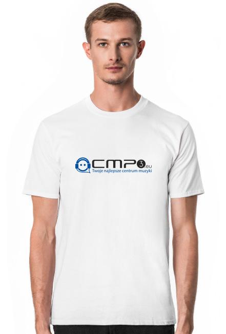 Koszulka z logo Cmp3.eu Blue