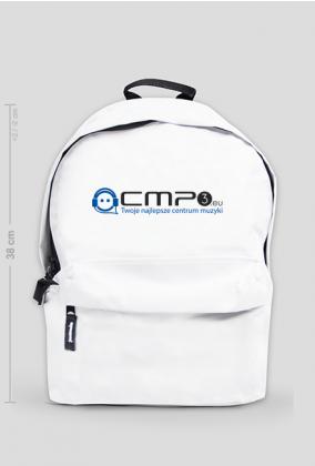 Plecak Biały Mały z Logo Cmp3.eu