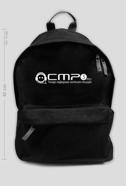 Plecak Czarny Duży z Logo Cmp3.eu