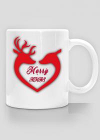 Wesołych Świąt Renifery Kubek Cup