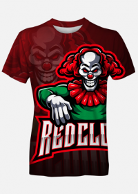Red Clown Joker T-shirt