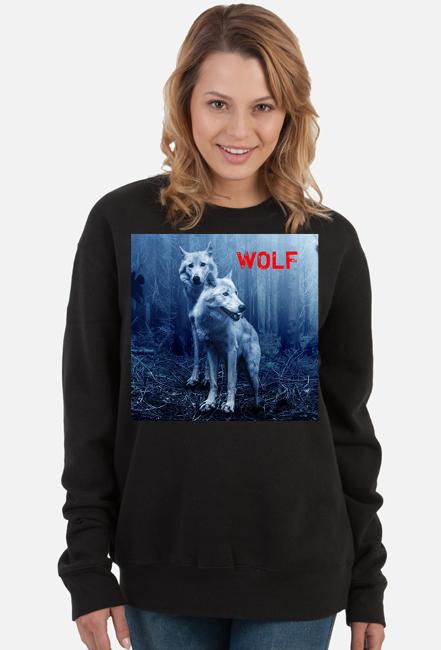 Bluza damska Wolf
