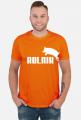 Koszulka z napisem Rolnik Pumba
