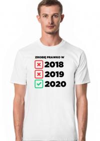 Koszulka Zrobię Prawko