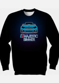 M4 blue - ///Majestic Bimmer (fullprint sweatshirt)