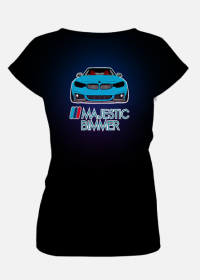 M4 blue - ///Majestic Bimmer (fullprint woman t-shirt)