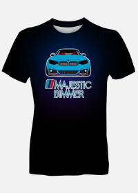 M4 blue - ///Majestic Bimmer (fullprint men t-shirt)
