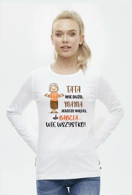 Prezent dla Babci i Dziadka. Prezent dla Dziadków. Babcia. Koszulka dla Babci. Dziadek