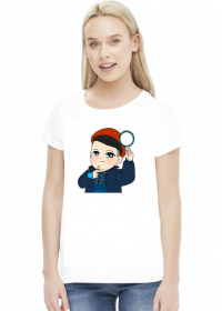"""Koszulka damska """"Mały kolejarz"""""""