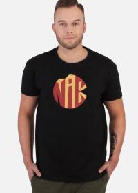 i tak i nie - czarny tshirt