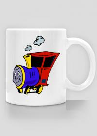 """Kubek """"Wesoła lokomotywa"""""""