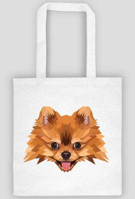 Szpic miniaturowy pomeranian torba z Twoim Zwierzakiem