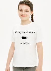 """Bluzka """"Zaszynszylowana"""""""