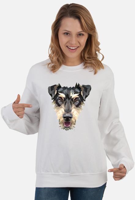 Jagdterrier bluza damska z Twoim psem
