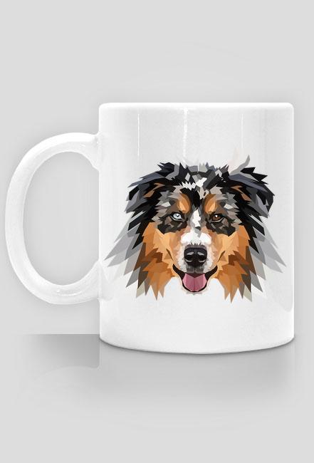 Australian Shepherd Kubek z twoim psem