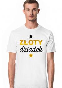 Złota Dziadek - koszulka dla dziadka