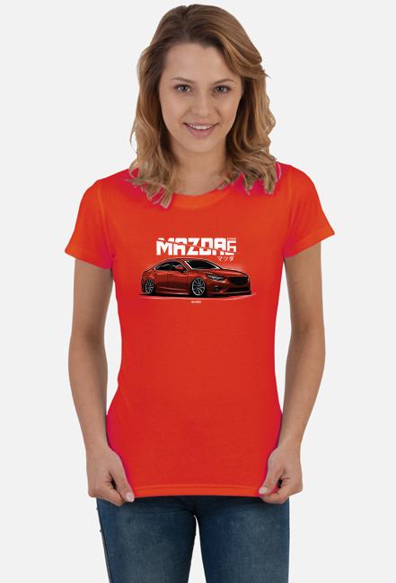 Koszulka damska - Mazda 6 / Atenza - CarCorner